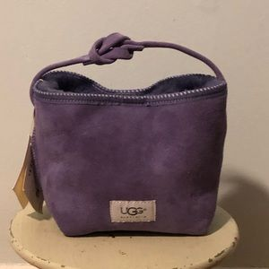 NWT 💜 Ugg Purple Suede Small Tote Bag